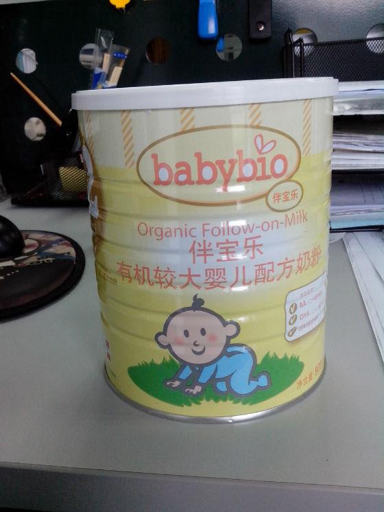 罐子上的宝宝很可爱哦!