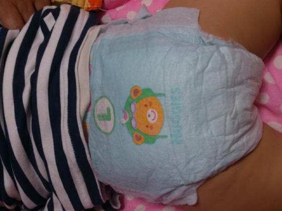好奇金装成长裤,陪伴宝宝成长图片