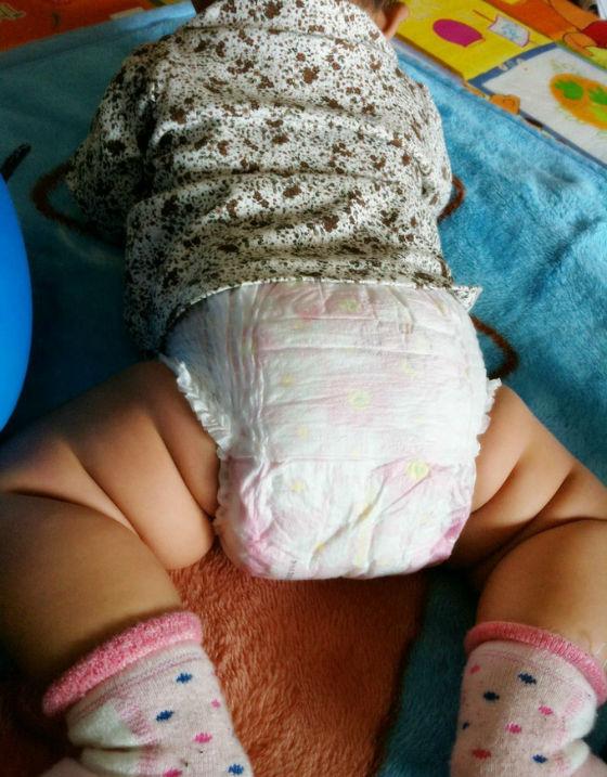 商品照片   总而言之,穿上帮宝适的拉拉裤之后,宝宝可以随